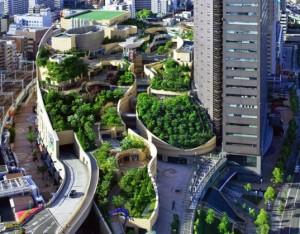 Green mall osaka japan